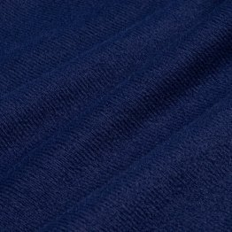 ONE OFF BRUSHED TRICOT NAVY